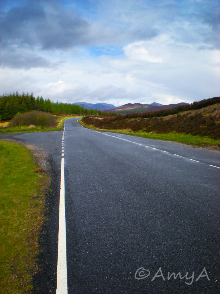 Scotland. Took a trip here between exams while I was on a study abroad year at Keele University, Newcastle-under-Lyme, England. For the life of me, I couldn't tell you where this shot was taken. Somewhere in or on the way to the highlands.