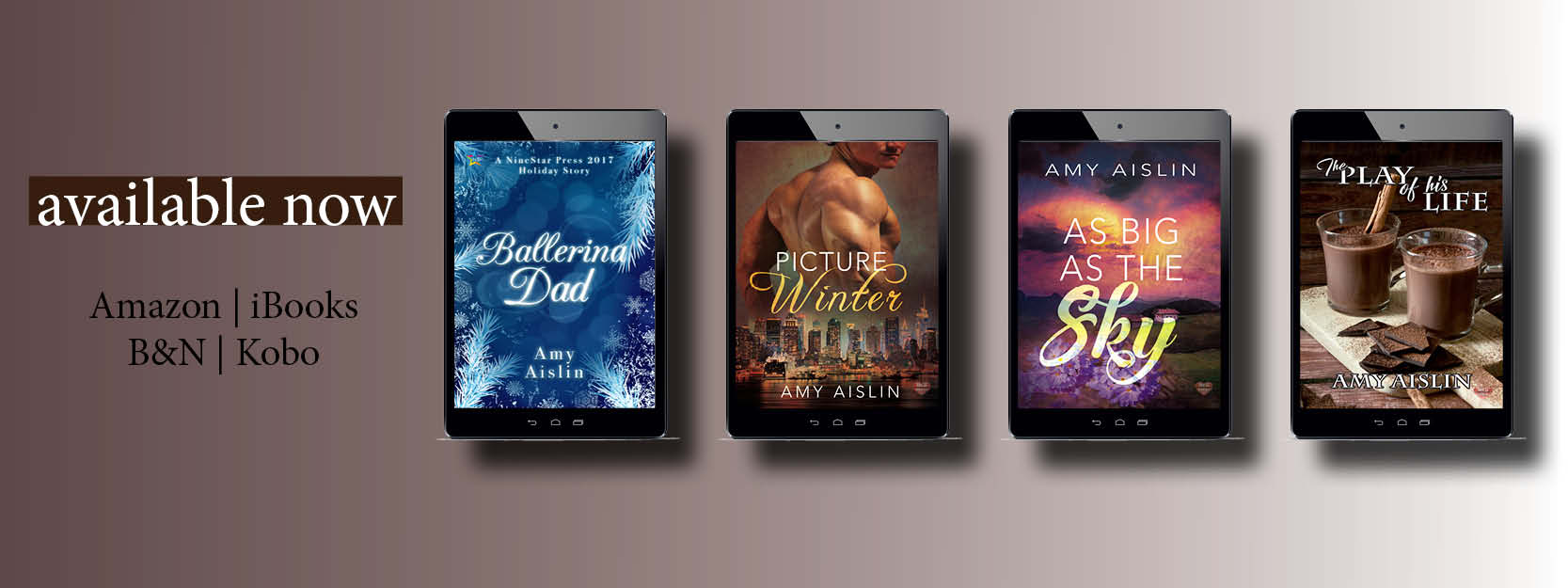 Amy Aislin's books