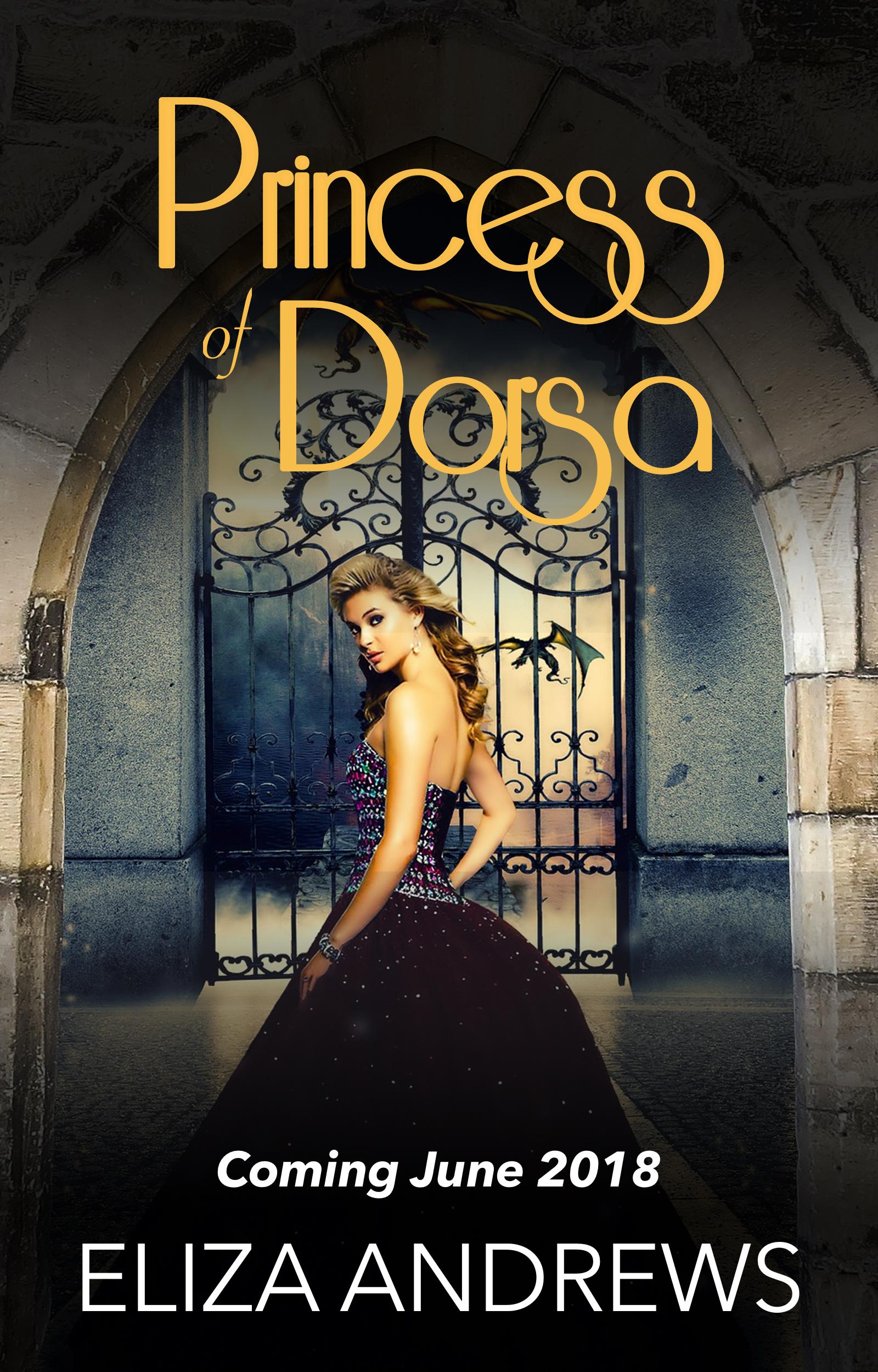 Eliza Andrews - Princess of Dorsa Cover