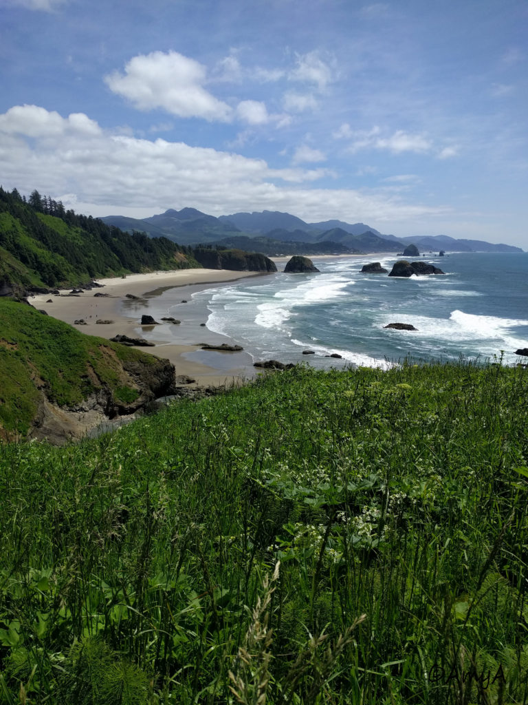Crescent Beach at Ecola State Park near Cannon Beach, Oregon. I spent a few days driving along the coast with a friend in May 2018 and this was my favourite spot.