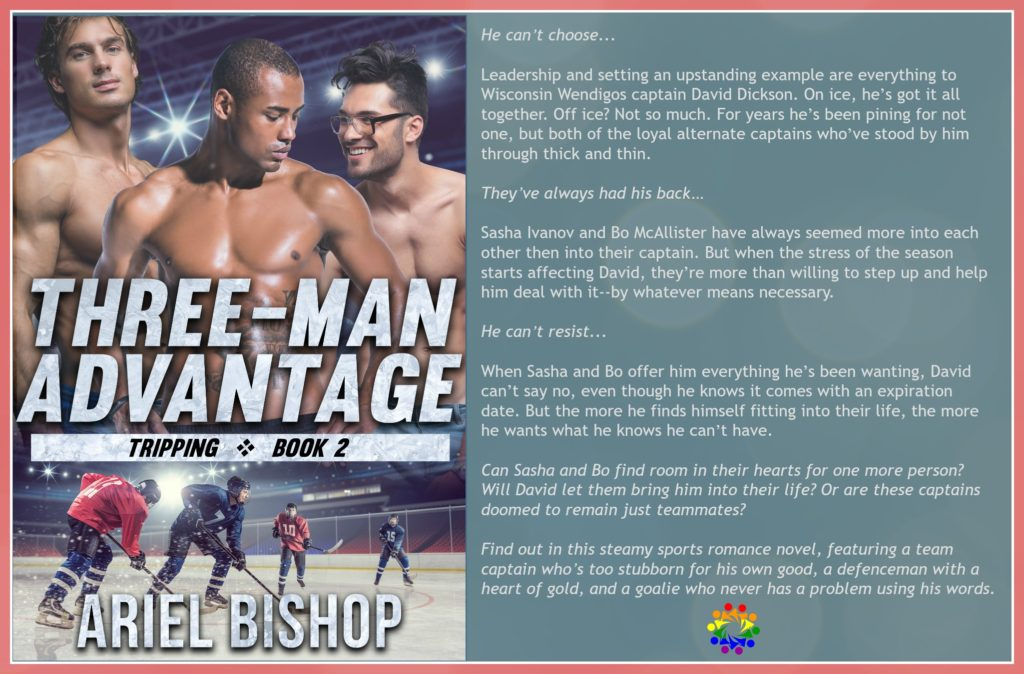 THREE-MAN ADVANTAGE BLURB