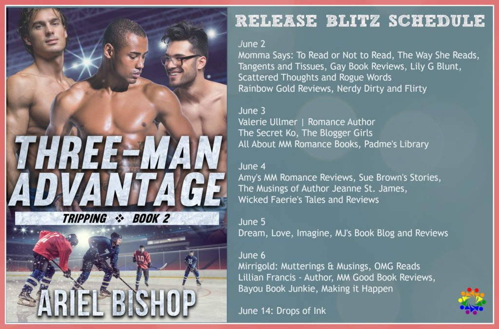 THREE-MAN ADVANTAGE COVER REVEAL SCHEDULE