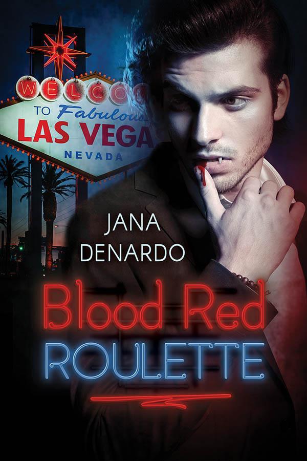 COVER - Blood Red Roulette - Jana Denardo