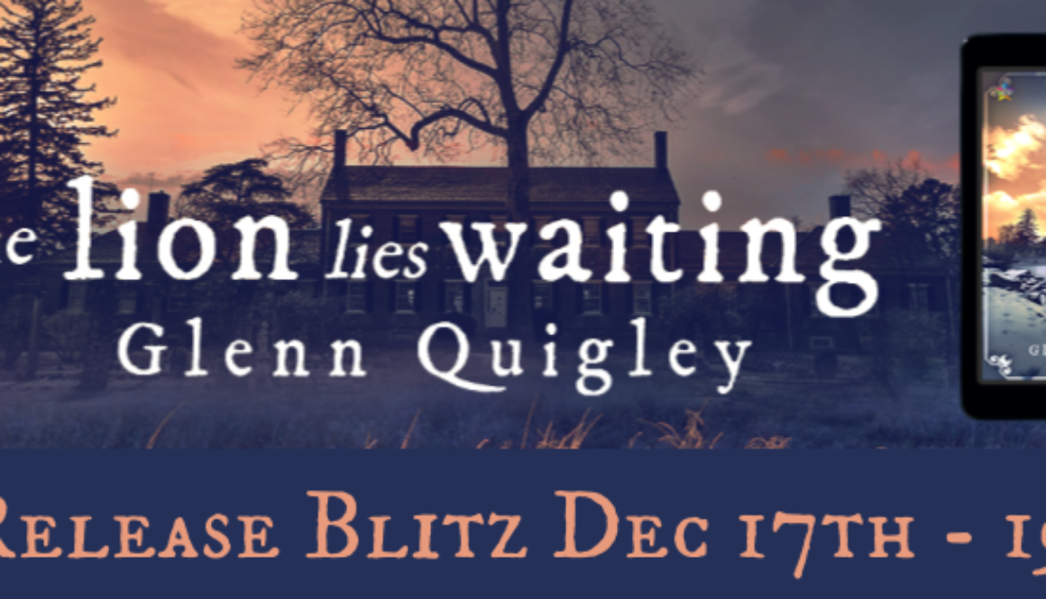 The lion lies Waiting Banner