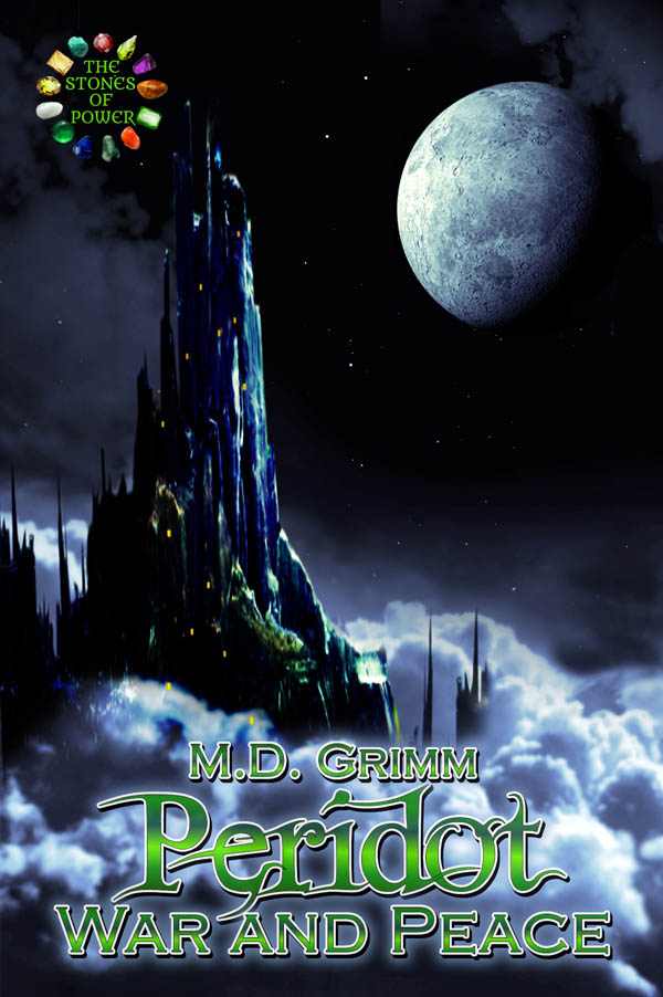 COVER Book 2 - Peridot War and Peace - The Stones of Power series